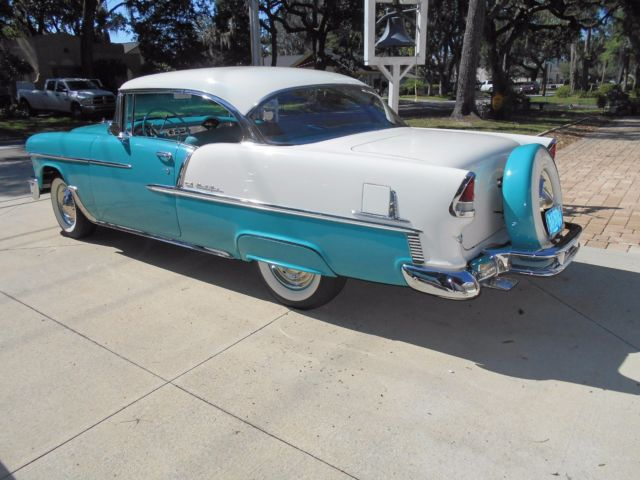 1955 chevrolet bel air sport coupe 2dr ht fully restored for sale in green cove springs - 1955 chevrolet belair sport coupe ...