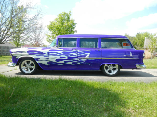1955 Chevrolet Bel Air Wagon Custom For Sale In Hamilton