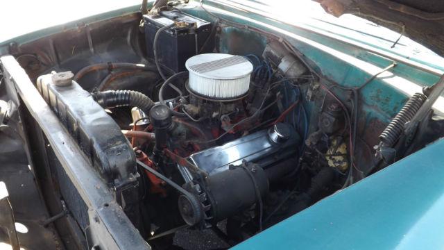 1955 chevrolet belair 4 door sedan 327 v8 3 speed automatic transmission for sale in broadway. Black Bedroom Furniture Sets. Home Design Ideas