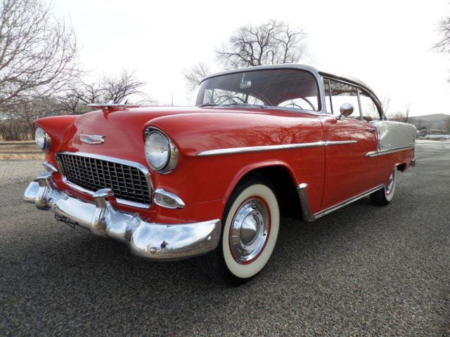 1955 chevrolet belair sport coupe 2 door hardtop 265 v8 automatic original show - 1955 chevrolet belair sport coupe ...