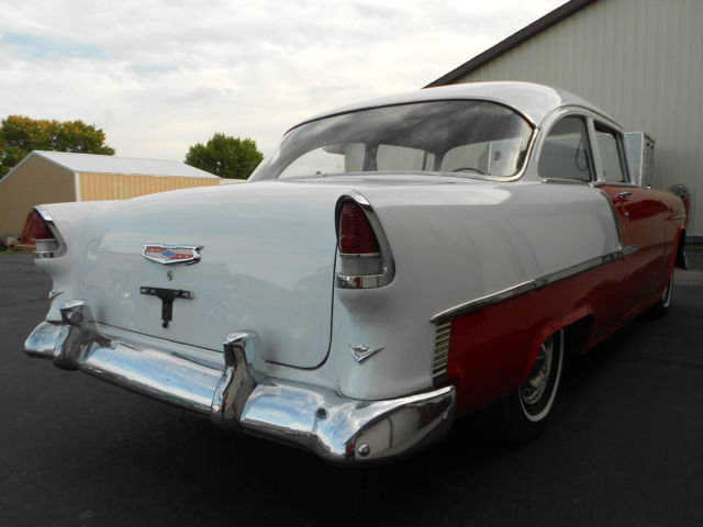 1955 Chevrolet Chevy 210 2 Door Sedan W Delray Interior
