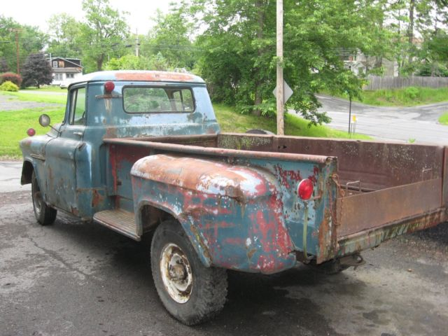 1 Ton Dump Body : Chevrolet chevy stepside pickup with dump body