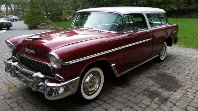 1955 chevrolet nomad california car 39 02 body off frame restoration rust free. Black Bedroom Furniture Sets. Home Design Ideas