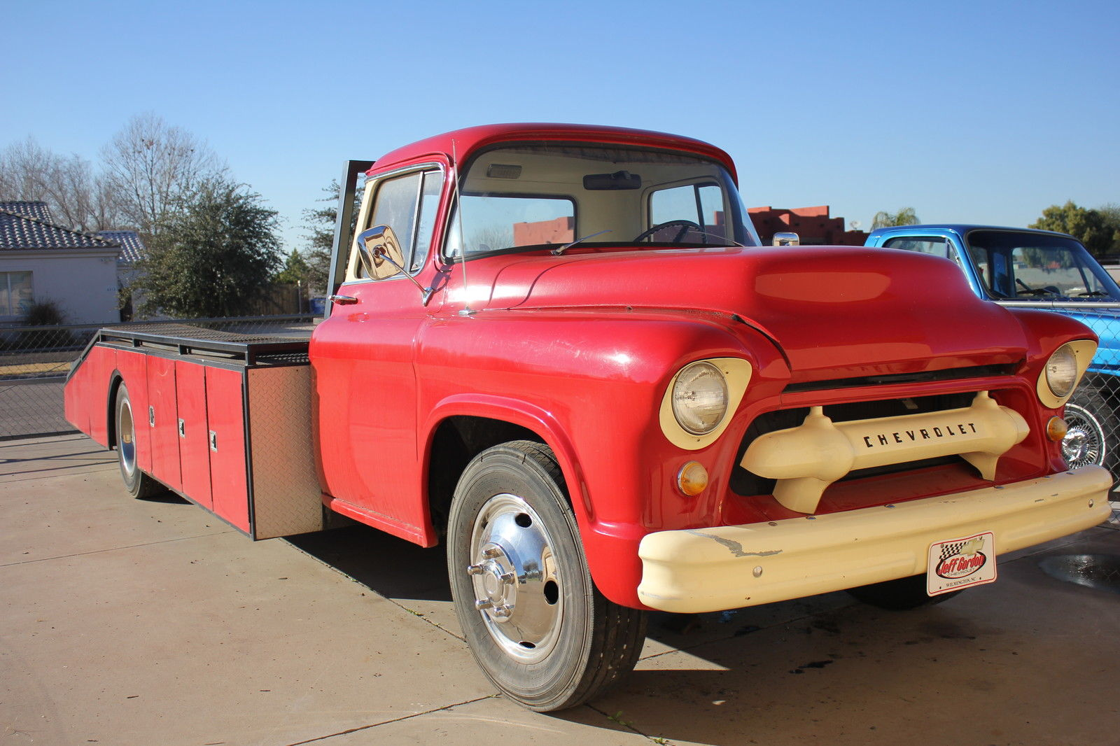 1955 Chevrolet Truck Ramp Car Hauler For Sale In Laveen Ford F100 On 20 Inch Wheels Other