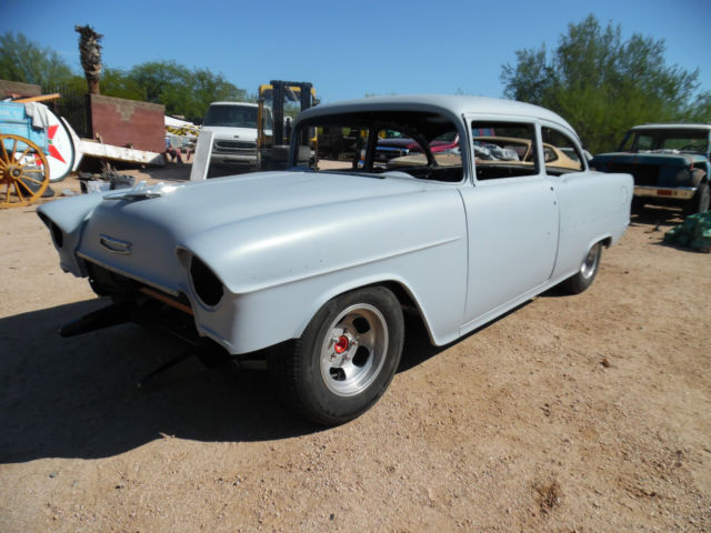 1955 Chevy 2 Door 210 Post - Very Solid Project Roller for sale in