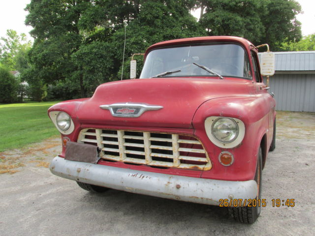 1955 chevy 3200 pickup for sale in toledo ohio united states. Black Bedroom Furniture Sets. Home Design Ideas