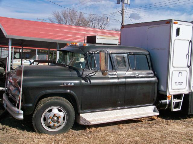 1955 Chevy 4 Door Crewcab Car Hauler For Sale In Loup City