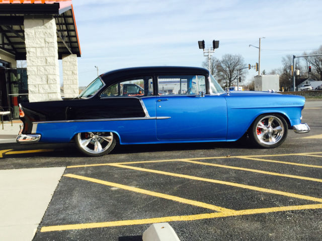 Chevy Chevrolet Belair Hardtop Door Sedan Post Pro Touring Ac Power
