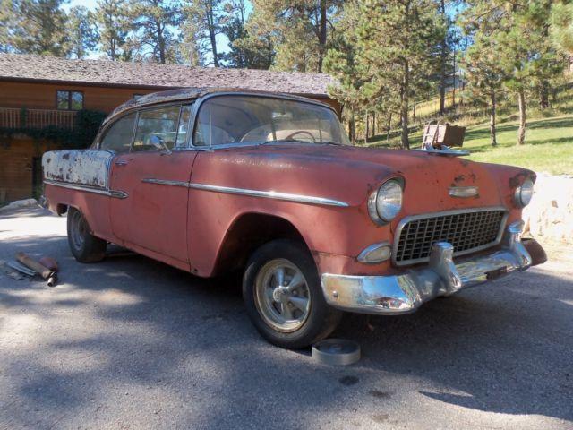 1955 chevy barn find two door hardtop belair original v8 for 1955 chevy belair 2 door hardtop for sale