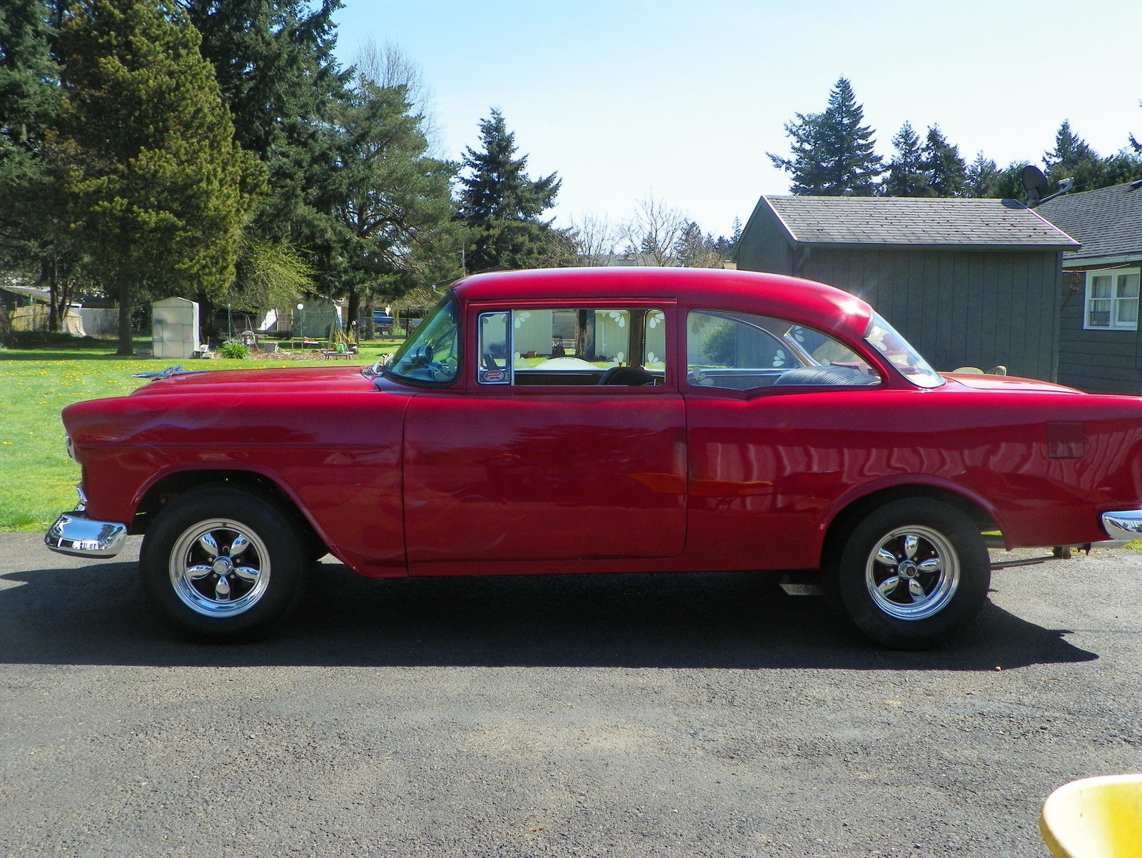 1955 Chevy Bel Air 2dr Post For Sale In Portland Oregon
