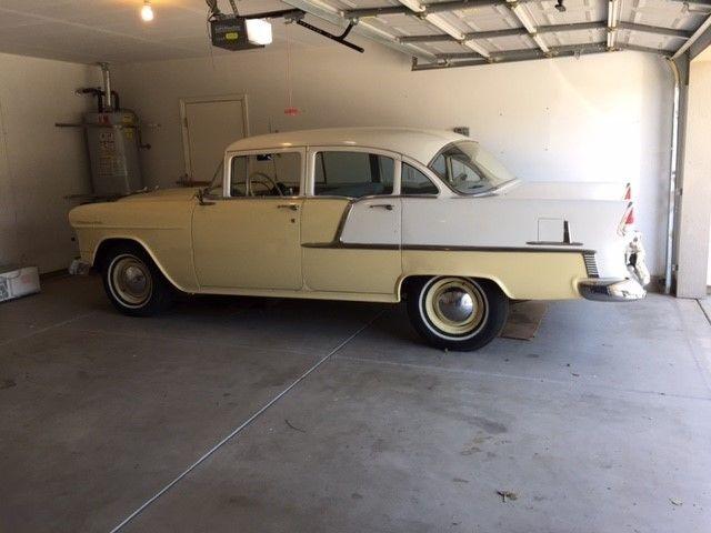 1955 chevy bel air 4 door sedan classic collector car for 1955 chevy belair 4 door value