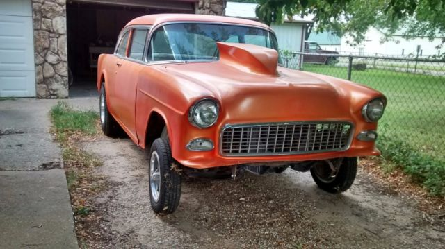 1955 Chevy Bel Air Gasser For Sale In Arkansas City Kansas United States