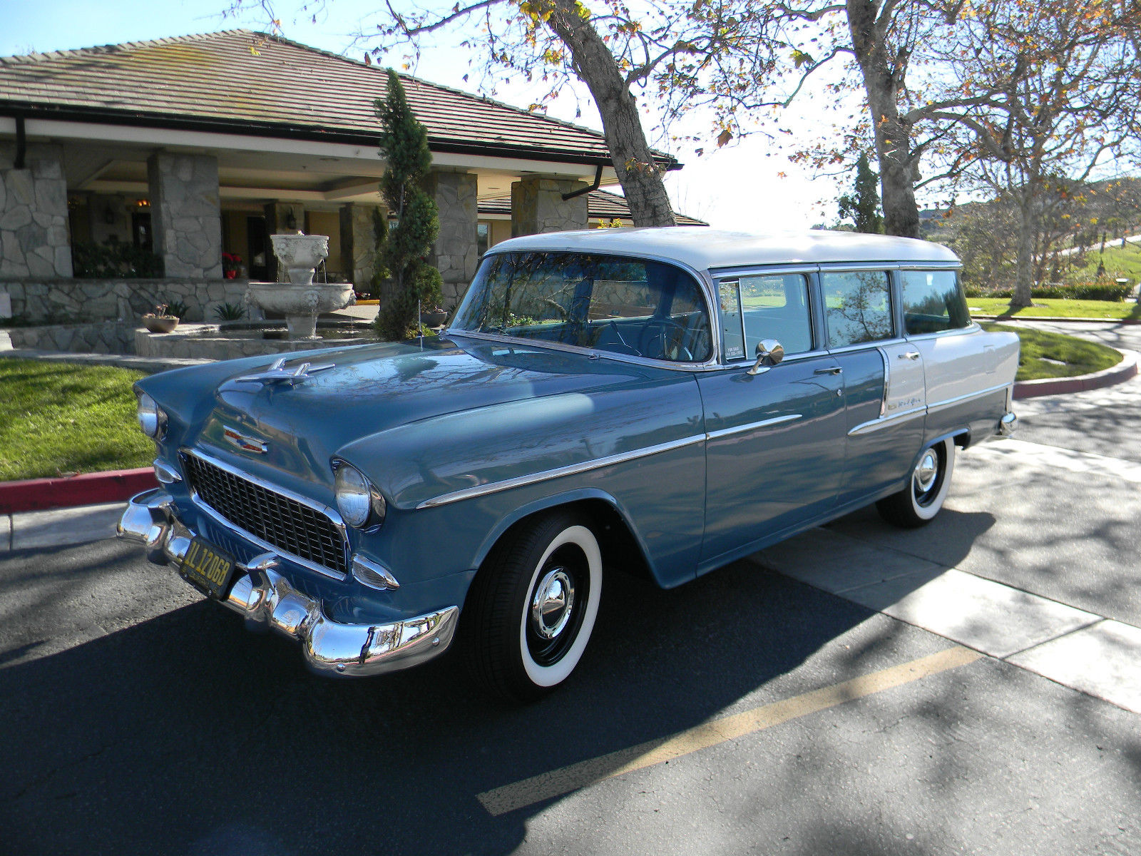 1955 Chevy Bel Air Wagon for sale in San Clemente