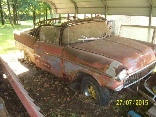 1955 Chevrolet Nomad Unrestored Project Car For Sale: 1955 Chevy Project Car For Sale