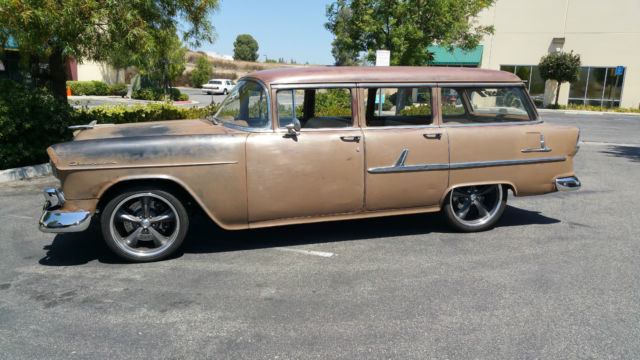 1955 Chevy Wagon 210 Cruiser Project Rat Rod For Sale