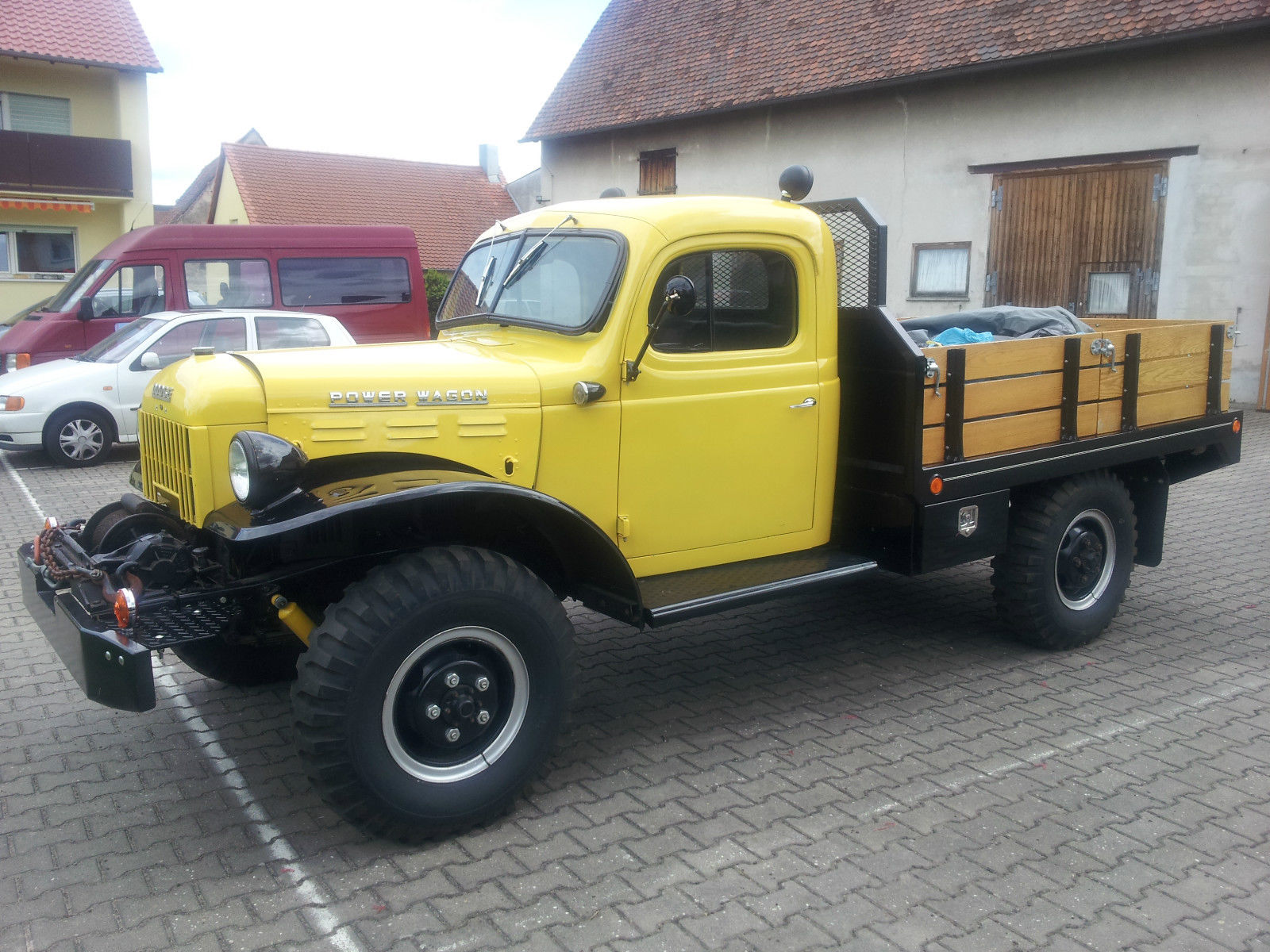 1955 dodge power wagon for sale in nürnberg, germany for sale1955 Dodge Power Wagon Base 38l For Sale #4
