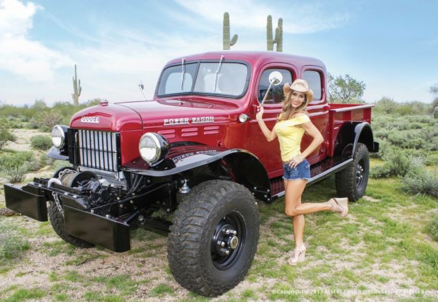 1955 Dodge Power Wagon Restomod For Sale Photos Technical