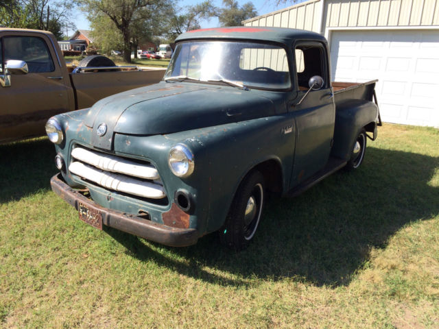 Used Cars Wichita Ks >> 1955 dodge truck shortbed 1/2 ton job rated c1 series for ...
