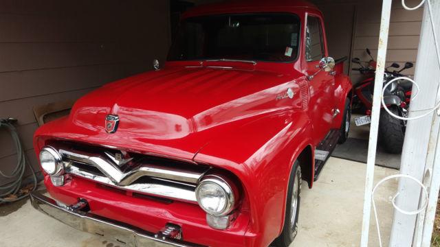 1955 ford f 100 base standard cab pickup 2 door 429 v8 for 100 doors 2 door 8
