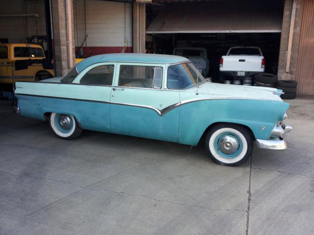 1955 ford fairlane club sedan 2 door all original for 1955 ford 2 door