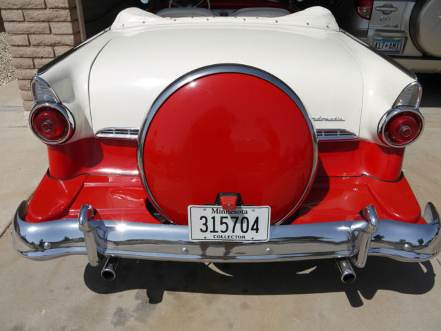 1955 Ford Fairlane Sunliner Convertible For Sale In
