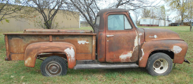 1955 ford pickup truck hot rod rat look 3 4 ton f250 patina project f100 build for sale in. Black Bedroom Furniture Sets. Home Design Ideas