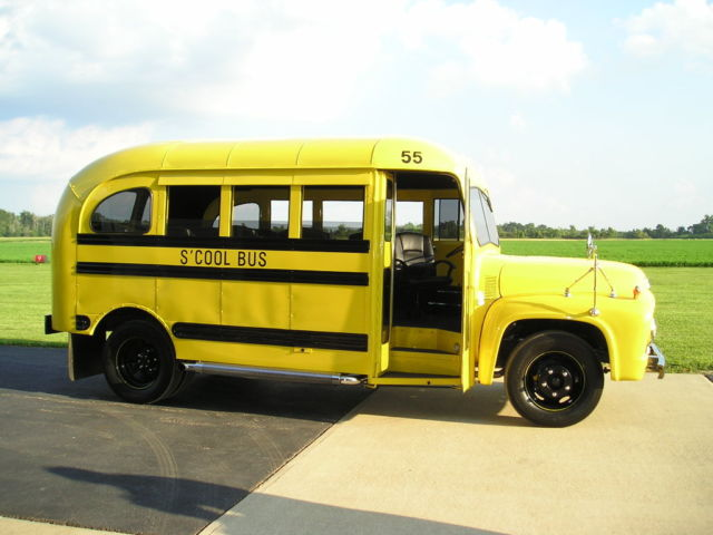 1955 Ford Shorty Street Rod School Bus for sale in Dimondale