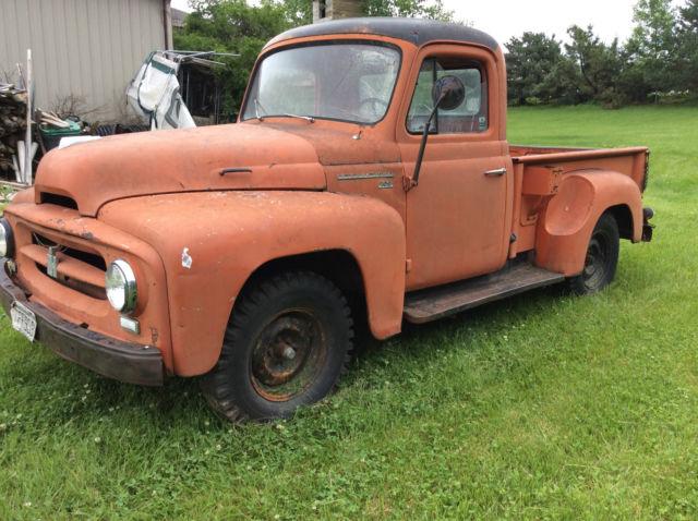 1955 International Harvester Pick Up Truck Short Box Half
