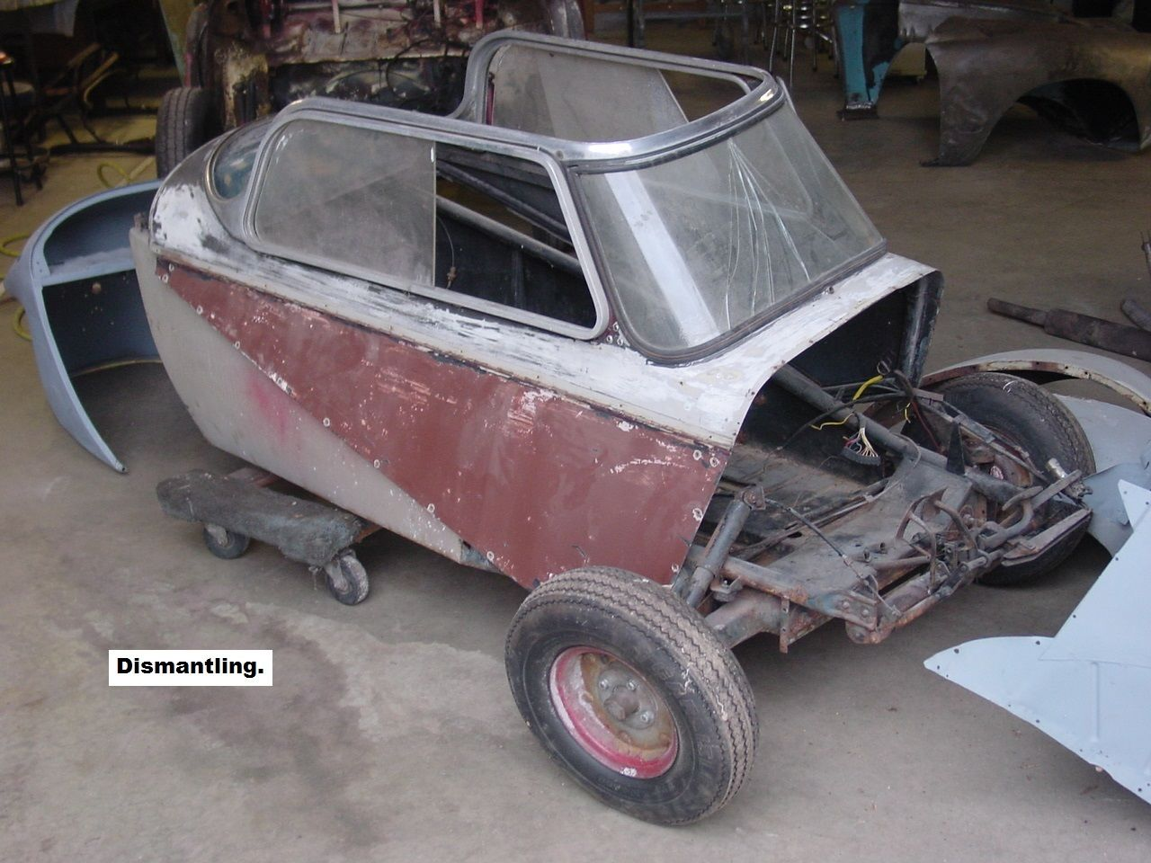 Clear Check Engine Light >> 1955 Messerschmitt KR200 with a Sachs 200 LDR for sale in ...