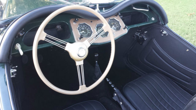 1955 mg tf 1500 in woodland green with black trim recent frame off restoration for sale in. Black Bedroom Furniture Sets. Home Design Ideas