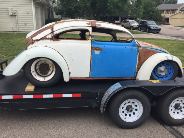 1955 Vw Bug Oval Window Chop Top