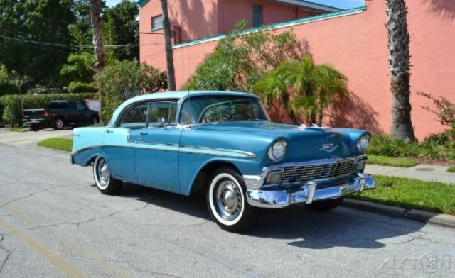 1956 4 door hardtop used automatic for sale in clearwater for 1956 chevy 4 door hardtop for sale