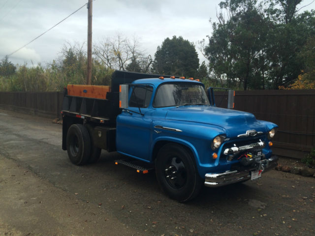 1956 Chevrolet 4100 2 Ton Dump Dumptruck For Sale In