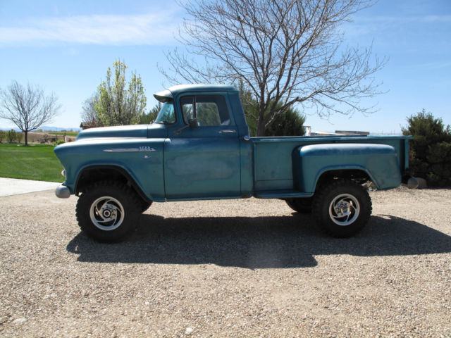 1956 chevrolet 4x4 3 4 ton pickup for sale in caldwell. Black Bedroom Furniture Sets. Home Design Ideas