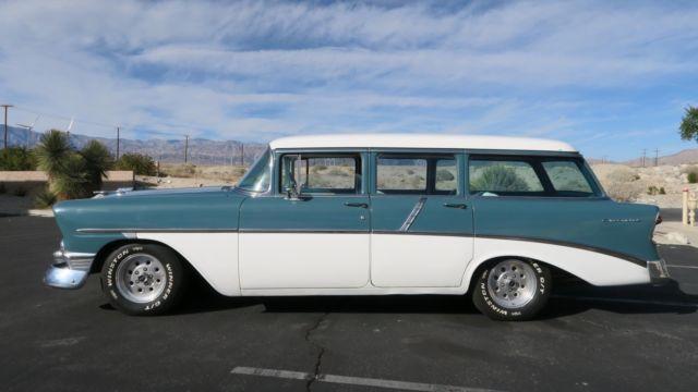 1956 chevrolet bel air 210 wagon 4 door california car for 1956 chevy wagon 4 door