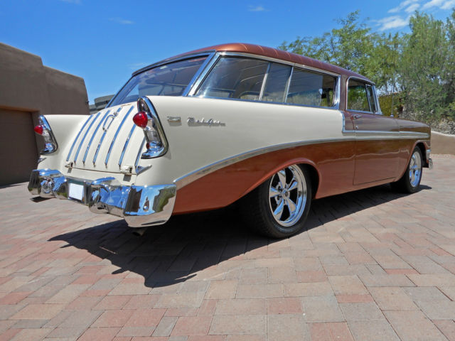 1955 Chevy Bel Air Convertible Frame Off 265 Powerglide Quality Resto