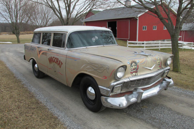 1956 chevrolet bel air station wagon tri five chevy for sale in churchville new york united states. Black Bedroom Furniture Sets. Home Design Ideas