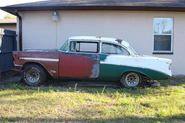 1956 chevrolet belair two door project car for 1956 belair 2 door