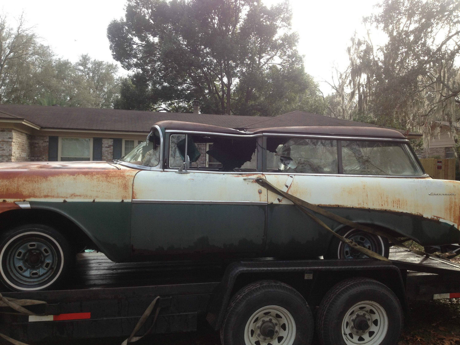1956 Chevrolet Handyman Wagon Nomad For Sale In Green