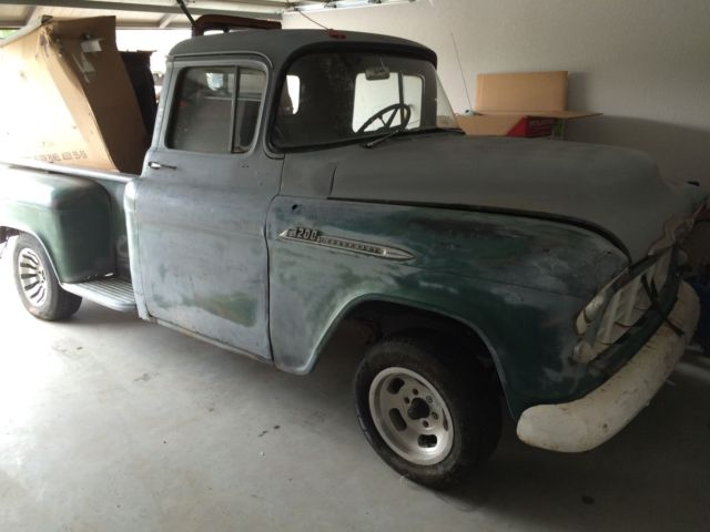 1956 chevrolet truck 3200 pickup hot rod rat rod project for sale in bentonville arkansas. Black Bedroom Furniture Sets. Home Design Ideas