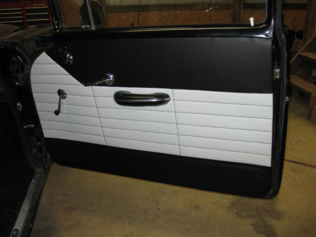 Chevrolet Bel Air >> 1956 Chevy 210!!! Black, Delray interior!!! New motor ...
