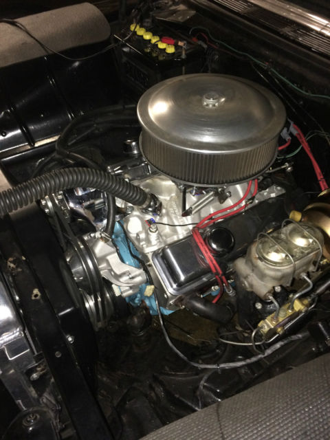 1956 Chevy 210 Black Delray Interior New Motor