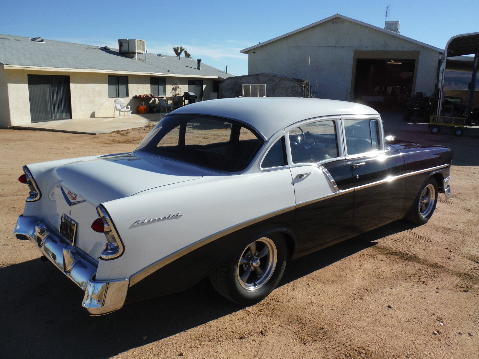 1956 chevy 210 california built car 265 v8 power disc for 1956 chevy 4 door for sale