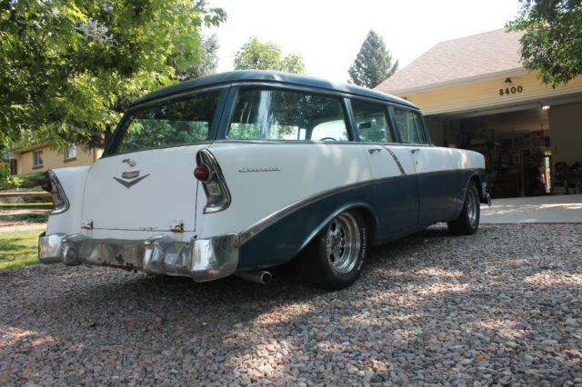 1956 chevy chevrolet station wagon 210 4 door 350 engine w for 1956 chevy 4 door for sale