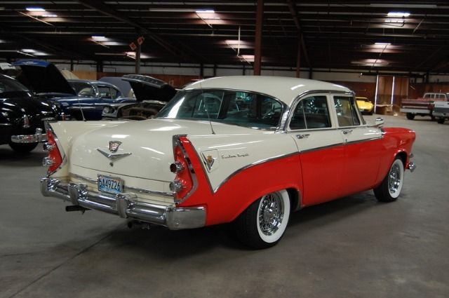 1956 dodge custom royal lancer 4 door sedan for sale in