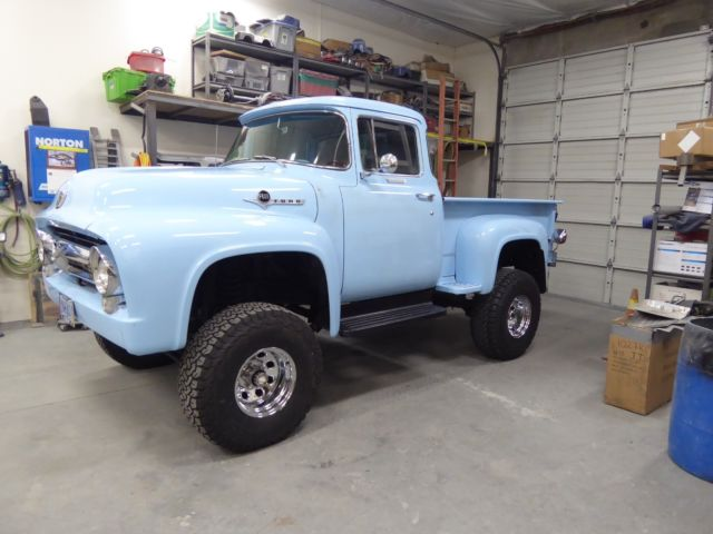 Big Valley Ford >> 1956 FORD F-600 4X4 CUSTOM CAB TURBO CUMMINS