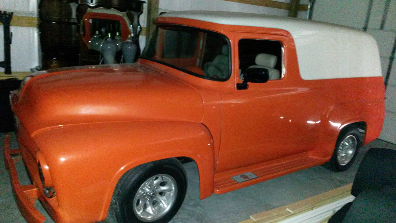 1956 ford f100 panel truck for sale in big stone gap virginia united states. Black Bedroom Furniture Sets. Home Design Ideas