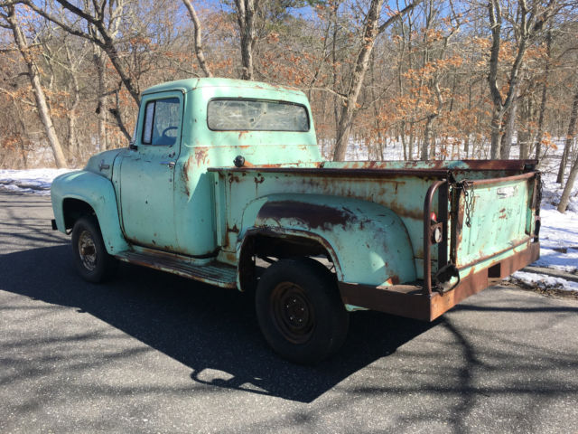 2000 Jeep Wrangler For Sale >> 1956 Ford F100 Pickup Truck 4x4 Runs Excellent Great ...