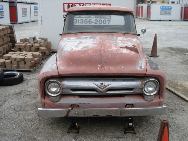 1956 Ford F100 Truck 390 V8 With C6 Transmission California Truck For Sale In Waycross