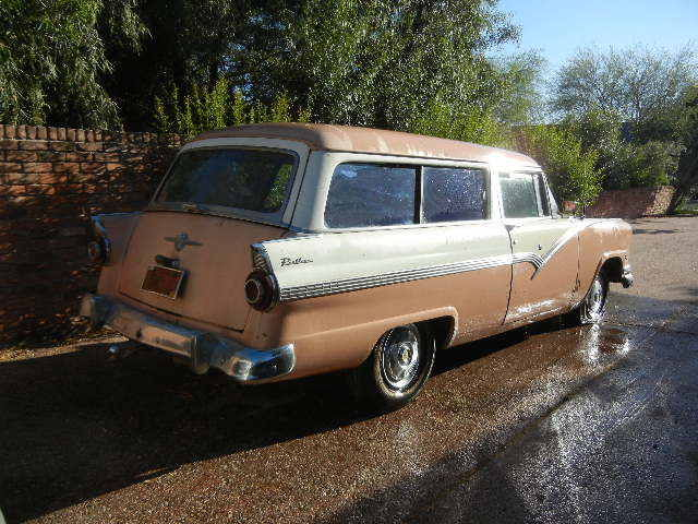 1956 ford parklane 2 door station wagon rare 1 year for 1956 ford wagon 2 door
